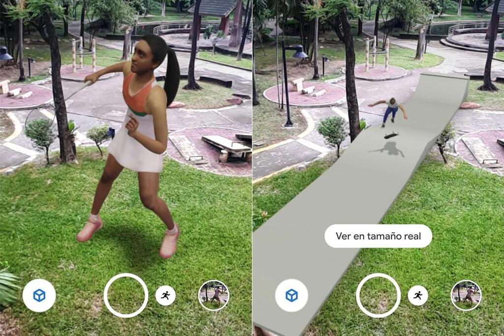 Los Juegos Olímpicos en tu salón: cómo ver a los atletas en 3D con la realidad aumentada de Google
