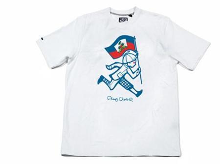 Camisetas solidarias buscan ayudar a Haití