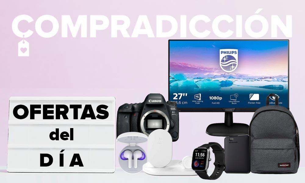 Ofertas del día en Amazon: monitores de PC Philips, discos duros WD, auriculares LG y bases de carga Belkin a precios rebajados