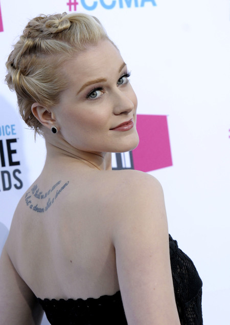Evan Rachel Wood tatuaje