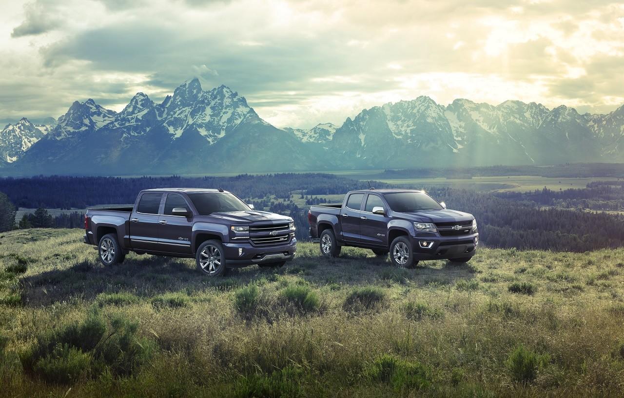 Foto de Chevrolet Silverado y Colorado edición Centennial (1/15)
