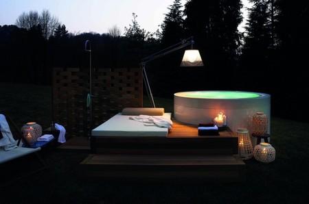 Mini piscina de Kos, un complemento perfecto para el jardín
