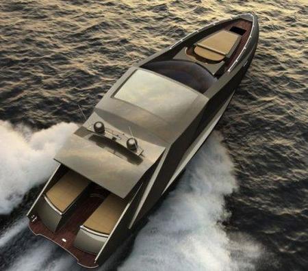 Dubbed Lamborghini Yacht, el yate Lamborghini diseñado por Mauro Lecchi