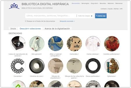 Descubrir Colecciones Biblioteca Digital Hispani