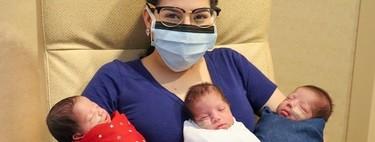 Una madre de Texas dio a luz a trillizos tras superar el coronavirus embarazada