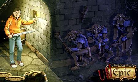 'Unepic' se confirma para Wii U gracias a EnjoyUp Games