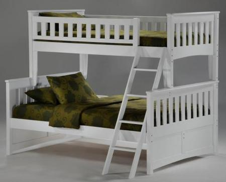 litera blanca bunk beds