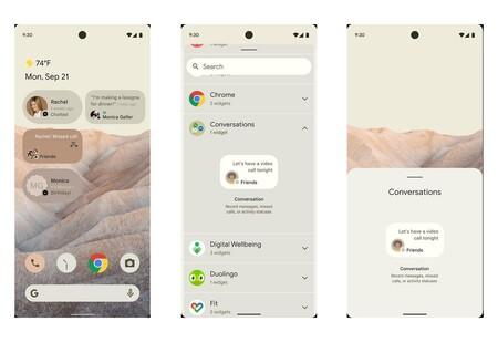 Android 12 Capturas Pantalla Filtracion Diseno