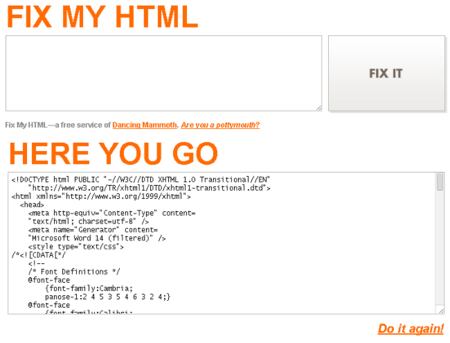 Fix my HTML