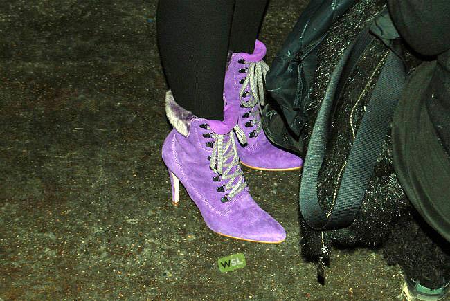 Foto de Streetstyle en los desfiles de la Semana de la Moda de Nueva York: una semana de imágenes (75/82)