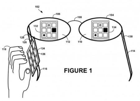 Botones Google Glass