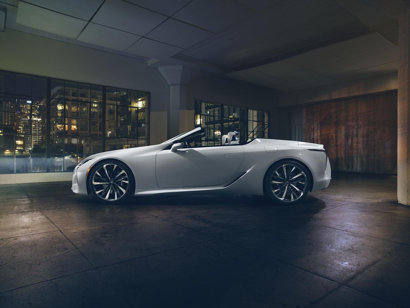 Foto de Lexus LC Convertible concept (8/12)