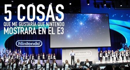 Cinco cosas que me gustaría que Nintendo mostrara [E3 2012]