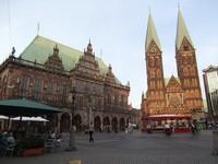 Bremen: de la Markplatz a la Calle Bottcherstrasse