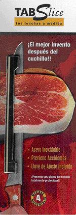 TAB Slice: Corta jamón sin peligro