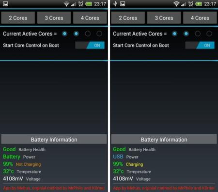 CoreControl o cómo elegir el número de núcleos activos en tu smartphone Android
