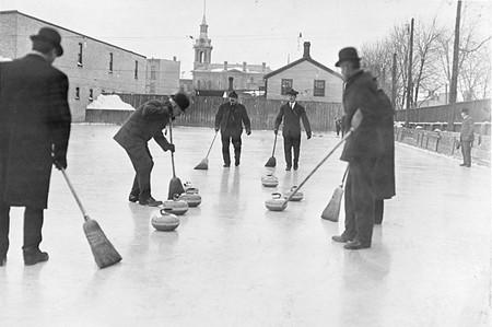 Curling 1909 Ontario Canada
