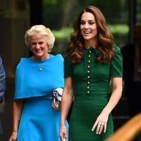 El look de Kate Middleton en la final femenina de Wimbledon