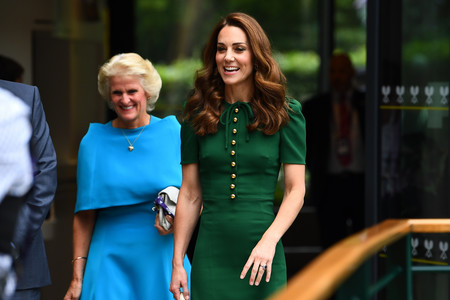 El look de Kate Middleton en la final femenina de Wimbledon
