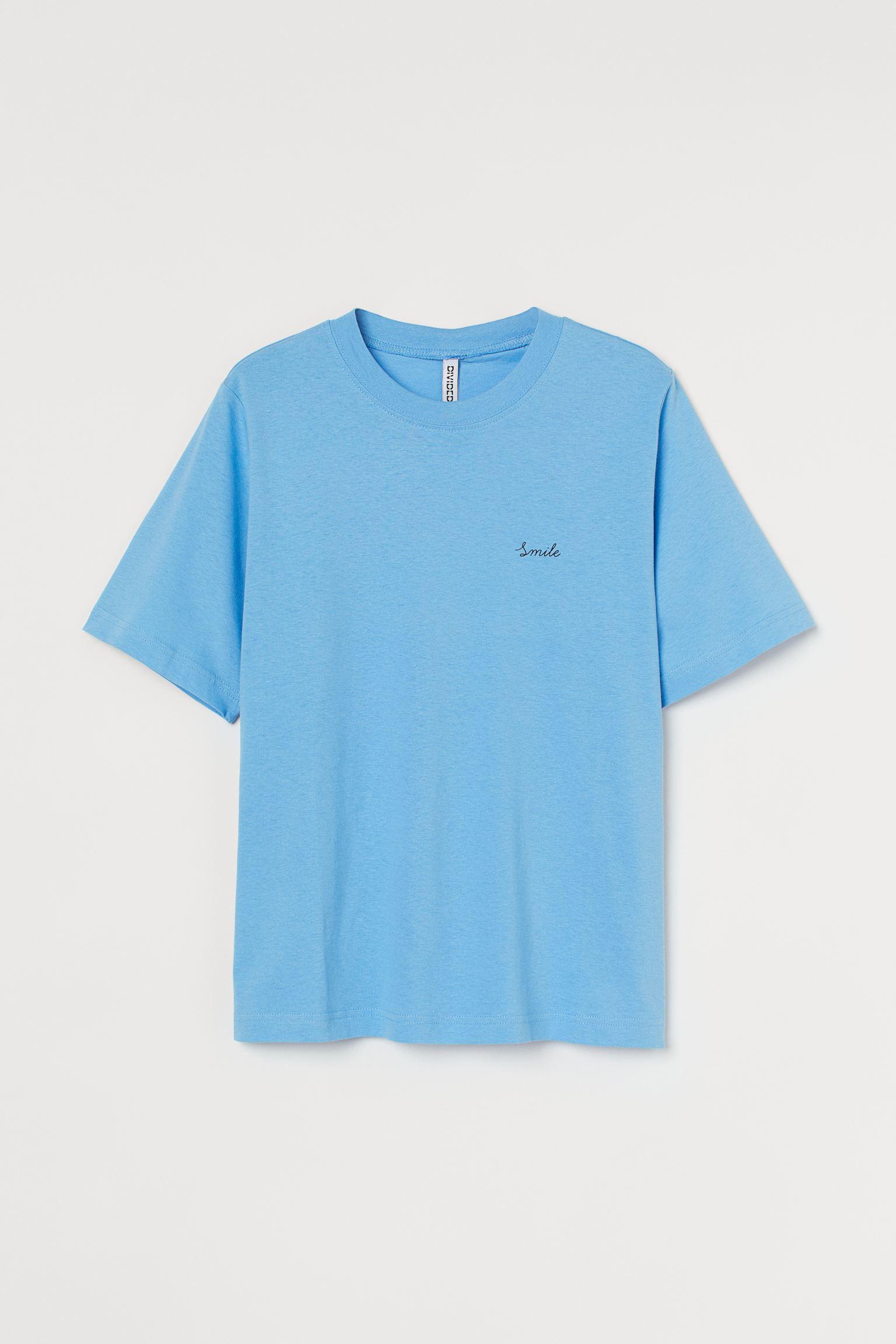 Camiseta en punto de algodón