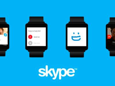 Skype 6.4, añade soporte completo para Android Wear