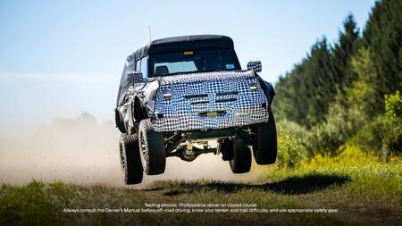 Ford Bronco teaser Raptpr
