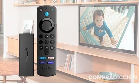 Amazon te permite convertir tu vieja tele en toda una smart TV por sólo 24,99 euros con el Fire TV Stick, en oferta hasta mañana