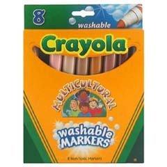 Rotuladores multiculturales de Crayola
