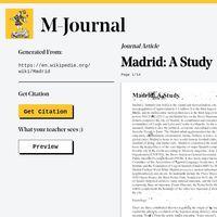 Esta web convierte las entradas de Wikipedia en convincentes 'papers' académicos fácilmente citables