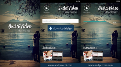 InstaVideo, una aplicación para descargar videos de Instagram con tu Windows Phone