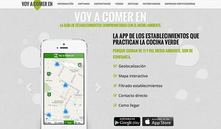 Una aplicación de restaurantes comprometidos con el medio ambiente en Asturias