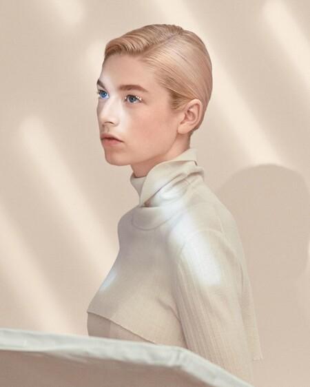 Hunter Schafer shiseido