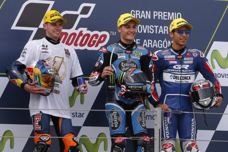 Jorge Navarro Brad Binder Enea Bastianini Moto3 2016