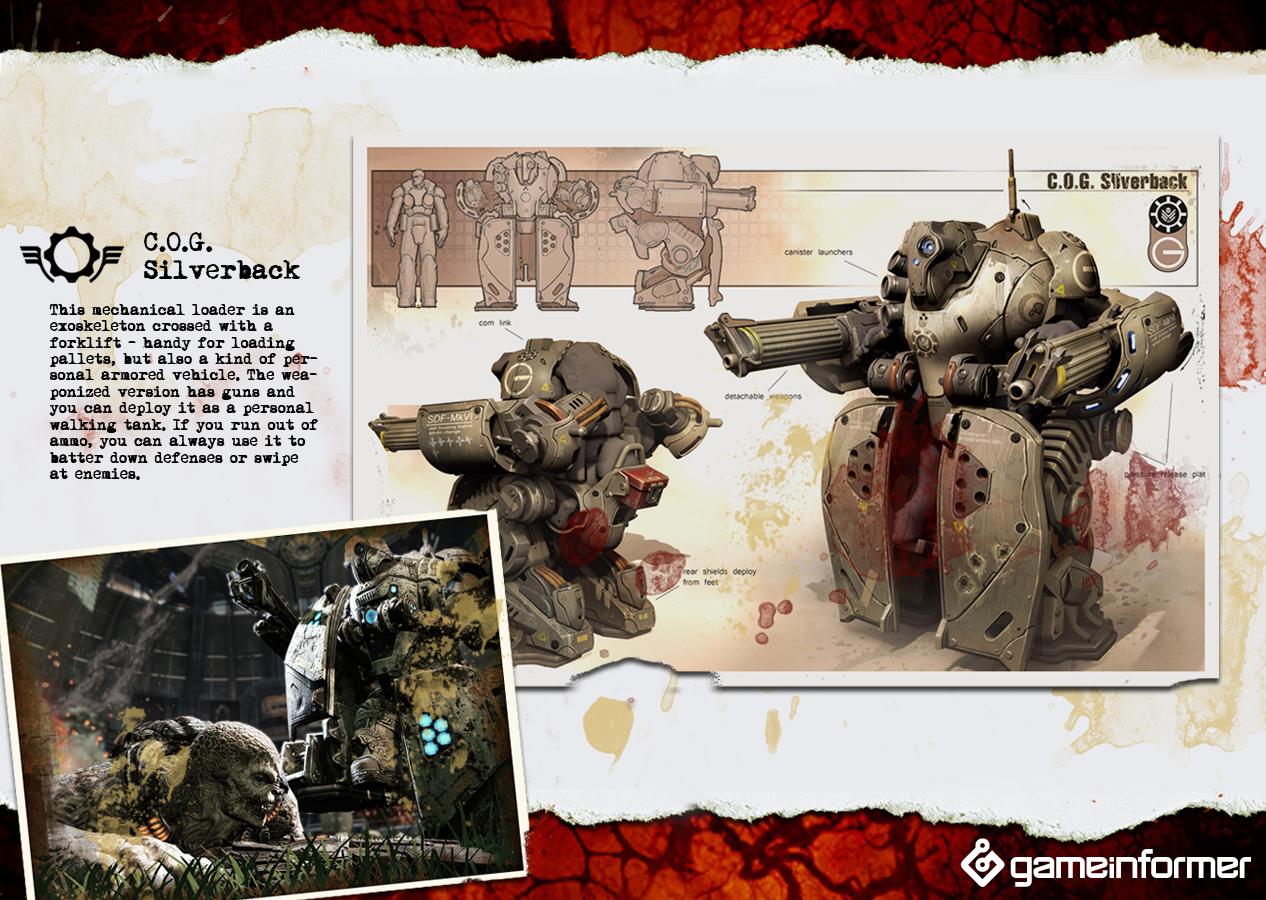 Foto de Gears of War 3, imágenes del robot (1/7)