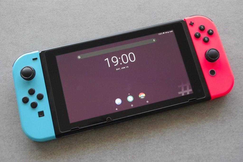 Die Nintendo-Switch können sie jetzt Android dank LineageOS und eine custom ROM