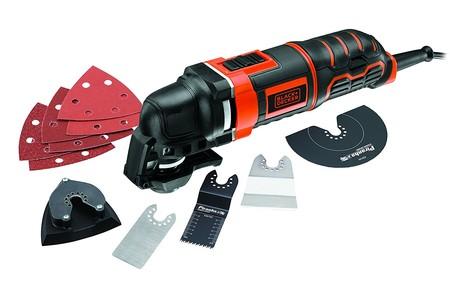 La multi-herramienta oscilante de 300W Black & Decker MT300KA cuesta sólo 81,85 euros en Amazon