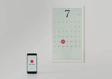 Tinta electrónica y autonomía de tres meses: en Google ha gustado esta posible evolución del calendario de papel