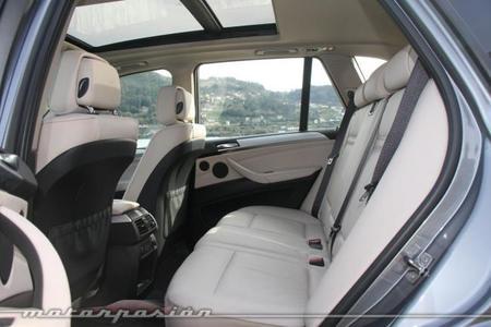 BMW X5 4.0d xDrive plazas traseras