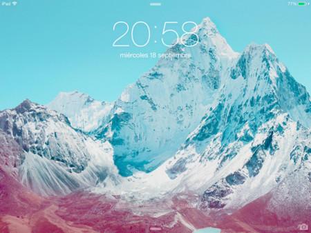 iOS 7 en el iPad 2