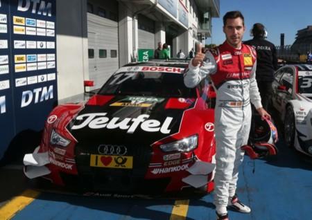 Pole Miguel Molina Dtm Nurburgring 2015