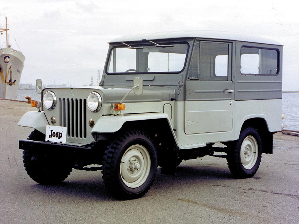 Mitsubishi Jeep 3