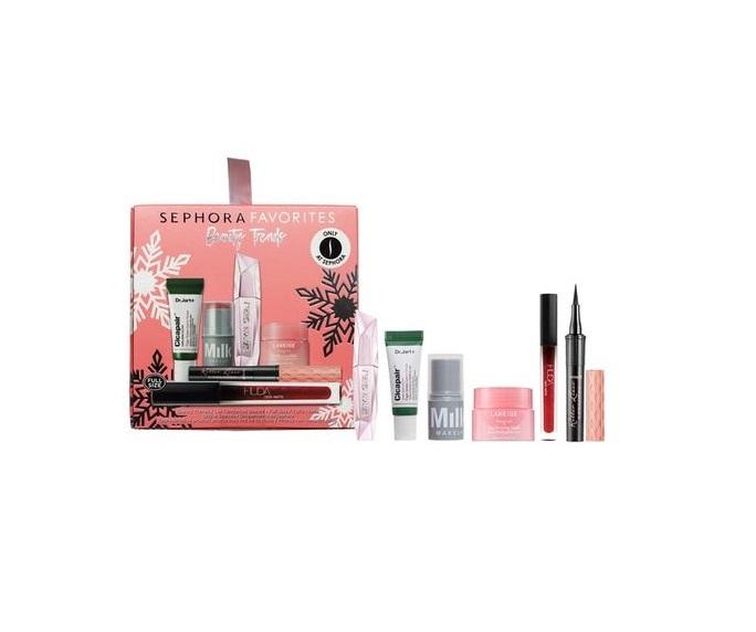 Set de maquillaje y tratamiento con los favoritos de Sephora