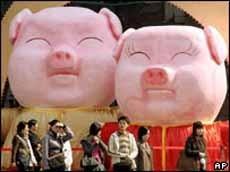 """China espera un """"baby boom"""" en el año del cerdo"""
