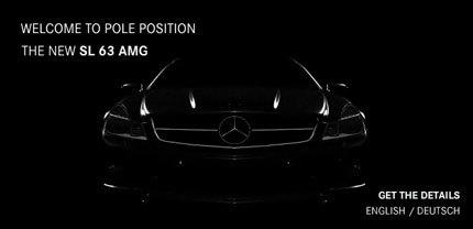 Mercedes-Benz SL 63 AMG, información disponible en la web de AMG