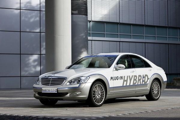 Mercedes-Benz Vision S 500 Plug-in HYBRID