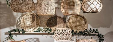 Muchas fibras naturales y vegetación en la presentación de la colección Natural para esta primavera en El Corte Inglés
