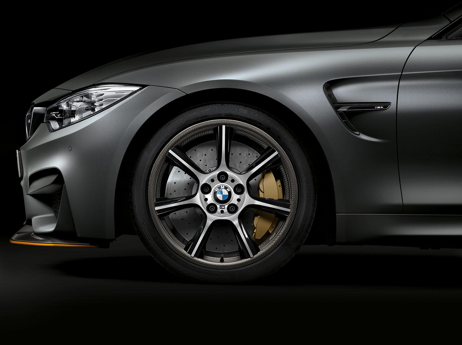 Foto de BMW M4 GTS rines de fibra de carbono (1/3)