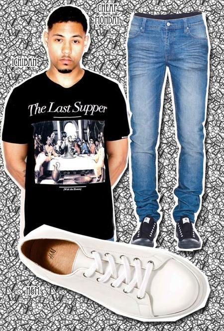 camisetas hiphop moda