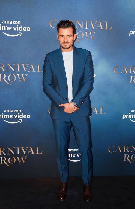 Orlando Bloom Carnival Row London Screening Red Carpet Arrivals 03