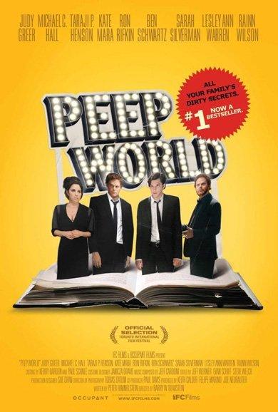 'Peep World', con Michael C. Hall y Sarah Silverman, cartel y tráiler